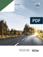 Volvo V40 Pricelist