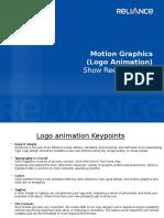 Show Reel Guideline-Motion Graphics-Logo Animaion