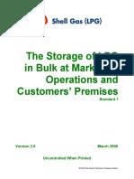 SGLPG Technical Standard One Storage of LPG in Bulk (HSE-03-10)