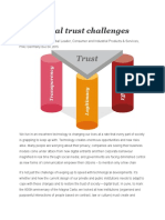 Ten Digital Trust Challenges