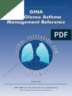 GINA at a Glance Asthma