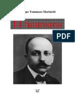 Marinetti Filippo - El Futurismo
