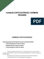 Hormon Corticosteroizi Hormoni Tiroidieni
