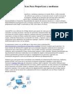 5 Software Específicos Para Pequeñas y medianas empresas