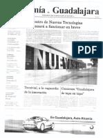 Periódico Economía de Guadalajara #16 Septiembre 2008