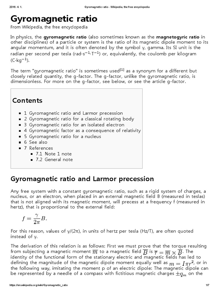 Gyromagnetic ratio scientific theories applied and gyromagnetic ratio scientific theories applied and interdisciplinary physics buycottarizona