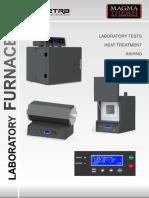 TETRA ISI MagmaTherm Laboratory Furnace E 082013