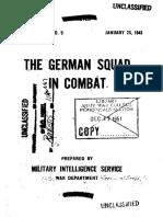 WD German Squad in Combat 1943