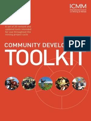 24 4 14 Icmm Community Development Toolkit Mining Non Governmental Organization