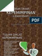 dasar-dasar kepemimpinan.ppt
