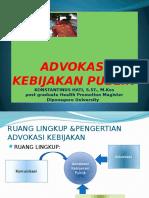 POWER POINT ADVOKASI KEBIJAKAN 2013.pptx