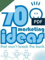 70 Marketing Ideas