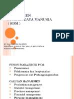 Bahan Presentasi Manajemen SDM