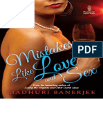Mistakes Like Love Sex by Madhuri Banerjee