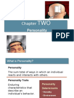 Personalities in an Organization