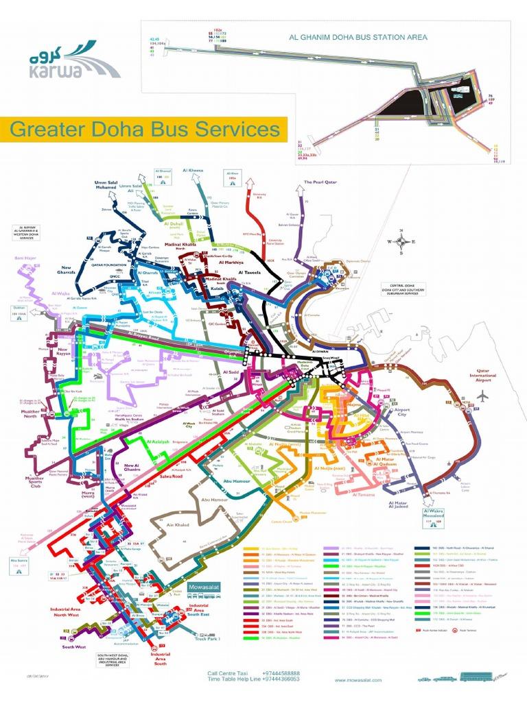 Mowasalat bus route