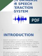 speechrecognitionsystemseminar-140305231047-phpapp01