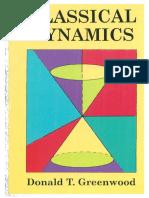 Classical Dynamics (D. T. Greenwood)
