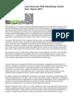 Sardegna I Nuovi Corsi Successo Web Marketing, Social Media E Seo A Cagliari. Marzo 2015