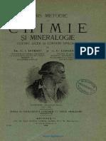 Istrati Curs Metodic de Chimie Şi Mineralogie
