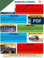 Actividades de la Escuela de Español 04 - 10 Abril