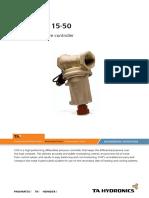 STAP DN15-50 Data Sheet