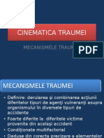 23. Cinematica traumei