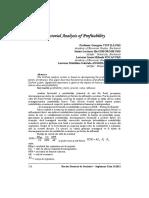 Analiza Facrtoriala a Ratelor