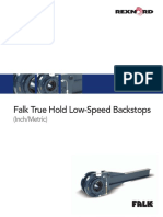 561 110 Falk True Hold Low Speed Backstops Catalog