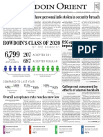 The Bowdoin Orient- Vol. 145, No. 19 -April 1, 2016
