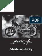 Fox Gebruikershandleiding