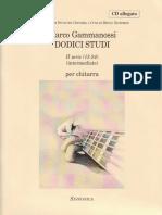 Marco Gammanossi - Dodici Studi - Serie II (13 - 24)