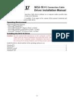 SCU-18 Driver Installation Manual