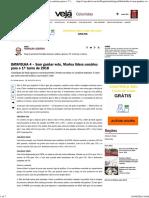Coluna de Reinaldo Azevedo Na Veja, De 19mar16