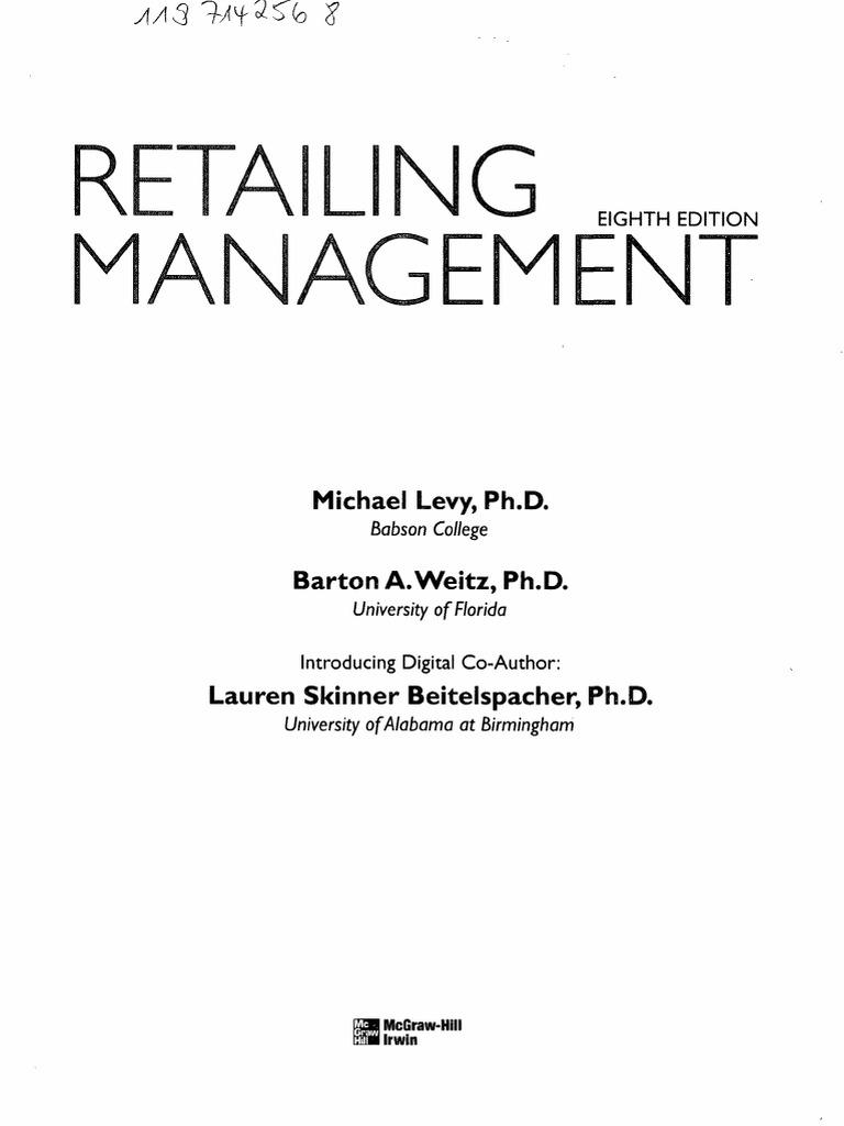 Levy retail strategic management fandeluxe Gallery