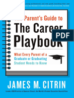 THE CAREER PLAYBOOK Parent's Guide