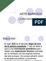 BARROCO PINTURA ESPAÑOLA