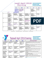 Tazewell April 2016 Group Exercise