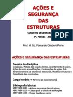 Ações e Segurança Das Estruturas_UniFOA_Slides_1a AVD
