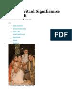 the spiritual significance of diwali
