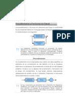Procedimientos y Funciones en Pascal