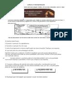 Leitura e Interpretação - Textos Curtos