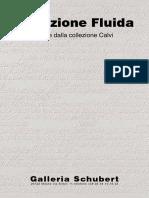 Collezione Fluida opere dalla collezione Calvi