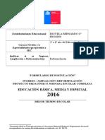 Formulario de Reformulaciòn Jec 2016_bernardo o Higgins Viernes Tarde