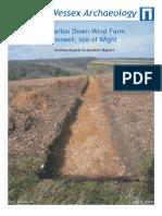 Cheverton Down Wind Farm, Shorwell, Isle of Wight
