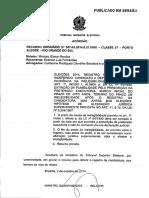 Acórdão - TSE - Ficha Limpa