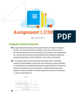 Operating System Assignment 1
