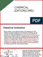 Chemicalionization