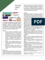Protocolo de Comunicación Cultivos - Agencias de Carga - Aerolíneas