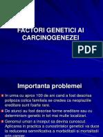 Curs 13. Factori Genetici 2014